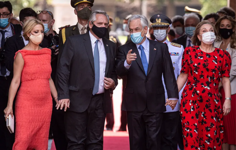 Fernández sigue de gira política