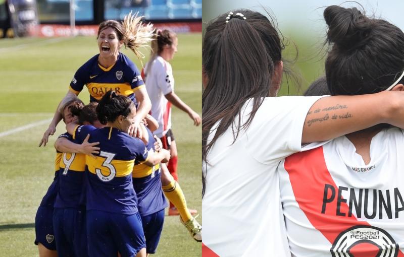 Boca - River: se define al primer campeón de la era profesional