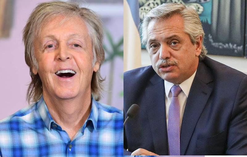 "McCartney le pide a Alberto un ""Lunes sin carne"""
