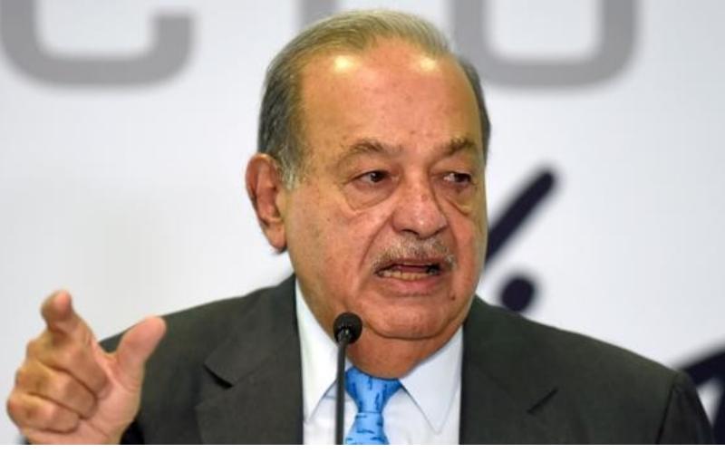 Dio positivo Carlos Slim, el hombre más rico de América Latina