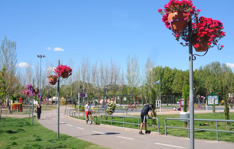 El Parque Benegas, con distintas opciones para moverse