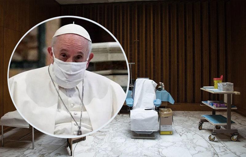 El Papa Francisco no podía faltar