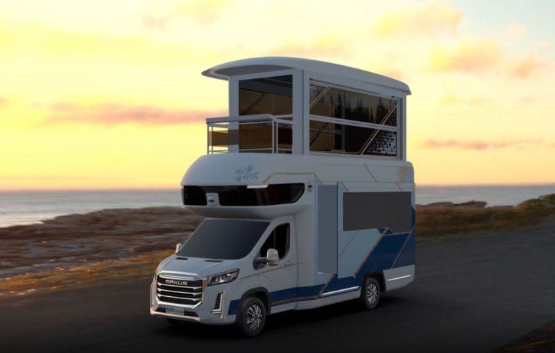 Sale a la venta la lujosa autocaravana de dos pisos