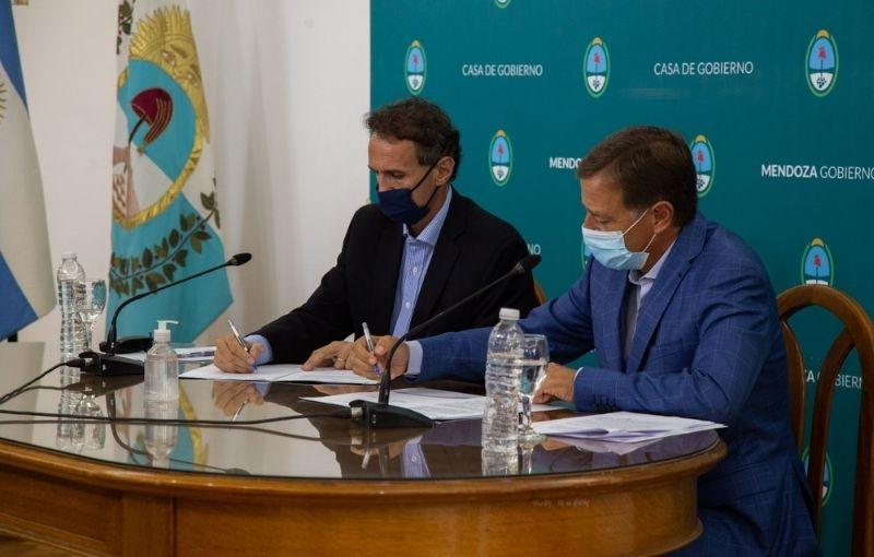 Katopodis y Suarez anunciaron la obra sobre la Ruta 40