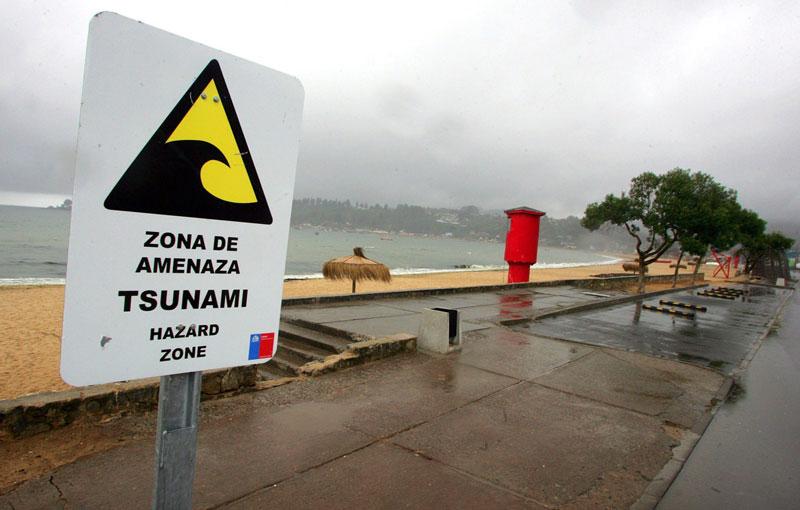 Chile desaloja por precaución
