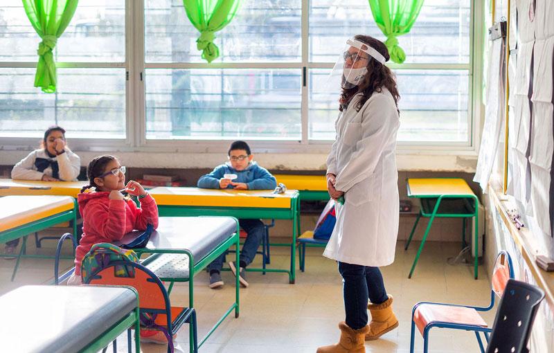 Próximo paso: los docentes