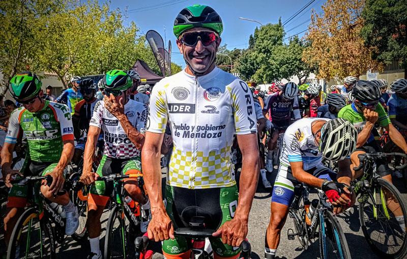 El flamante campeón de la Vuelta de Mendoza