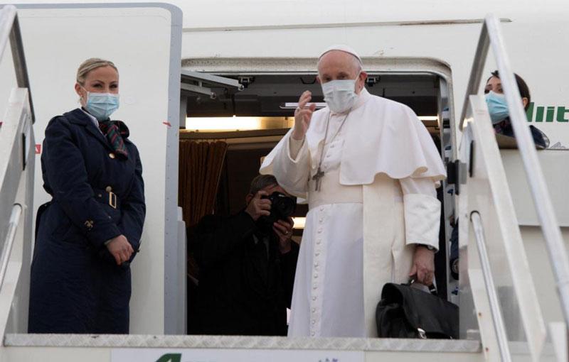 El Papa Francisco fue recibido en Irak