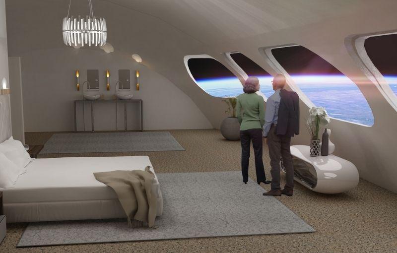 De película: Voyager será el primer hotel espacial