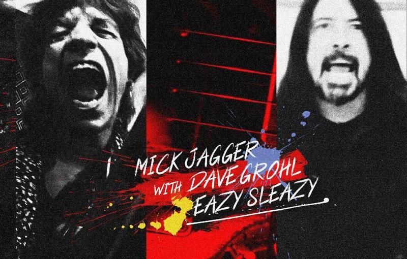 Mick Jagger-Dave Grohl: un rock a dúo sobre la pandemia