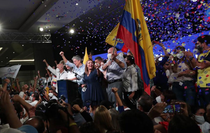 Los ecuatorianos tienen nuevo Presidente